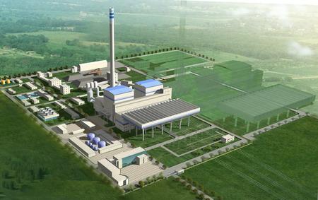 山西右玉煤矸石电厂