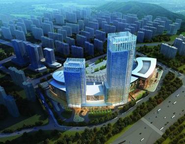 鲁能领秀城商业综合体