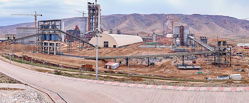 伊拉克卡拉乔6000TPD水泥生产线项目